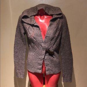 Free people sweater cardigan button blazer jacket